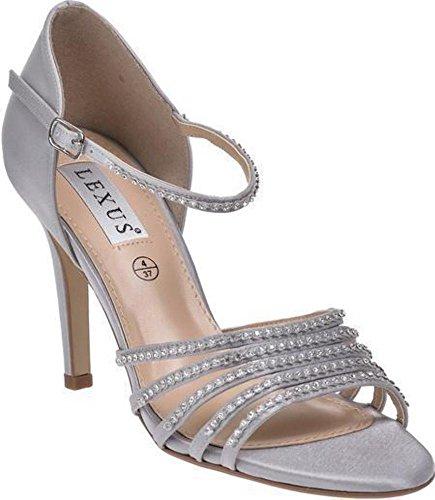 Diamante Sandaler Lexus Anjali Sølv Pu Strap 4fZZqdv