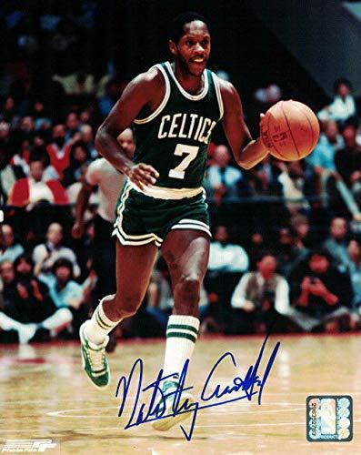 (Nate Archibald Autographed/Signed Boston Celtics 8x10 Photo)