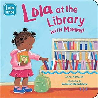 Book Cover: Lola at the Library with Mommy