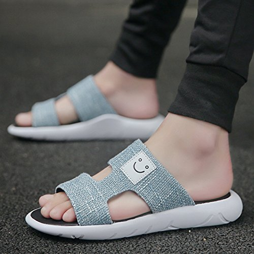Marea fankou Perezosa F Zapatos Playa Gente Sandalias Salvaje Personalidad Marea Estudiante Sandalias Transpirable Macho Ocio La Verano xIg4I