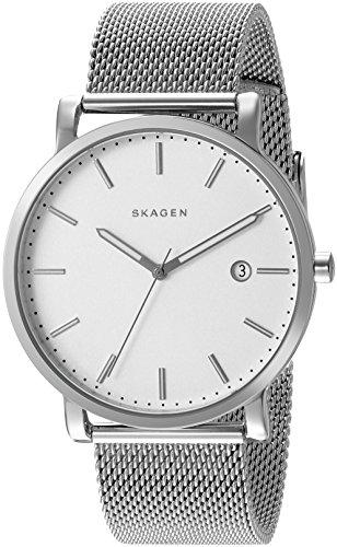Skagen Men's SKW6281 Hagen Stainless Steel Mesh Watch (Skagen Stainless Steel Watch compare prices)