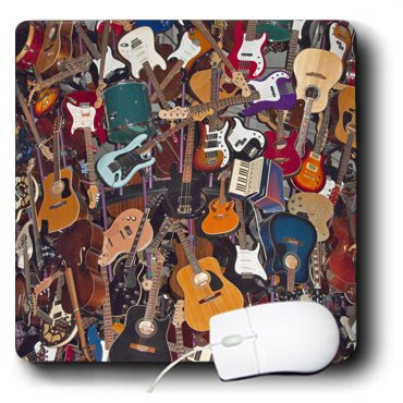 3dRose LLC 8 x 8 x 0.25 Inches Mouse Pad, Experience Music Project, Seattle, Washington, Chuck Haney (mp_95269_1)
