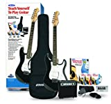 Alfred's Teach Yourself to Play Electric Guitar, Complete Starter Pack (Electric Guitar, Amplifier, Carrying Case, Cords, Accessories, Lesson Book, CD, DVD, Interactive Software, Tuner, Picks)