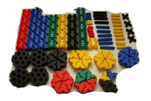 Morphun Bricks Model Construction, 111 Piece Set