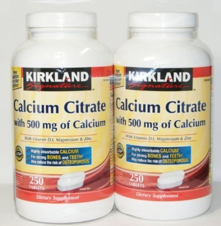 Kirkland Signature Calcium 500mg
