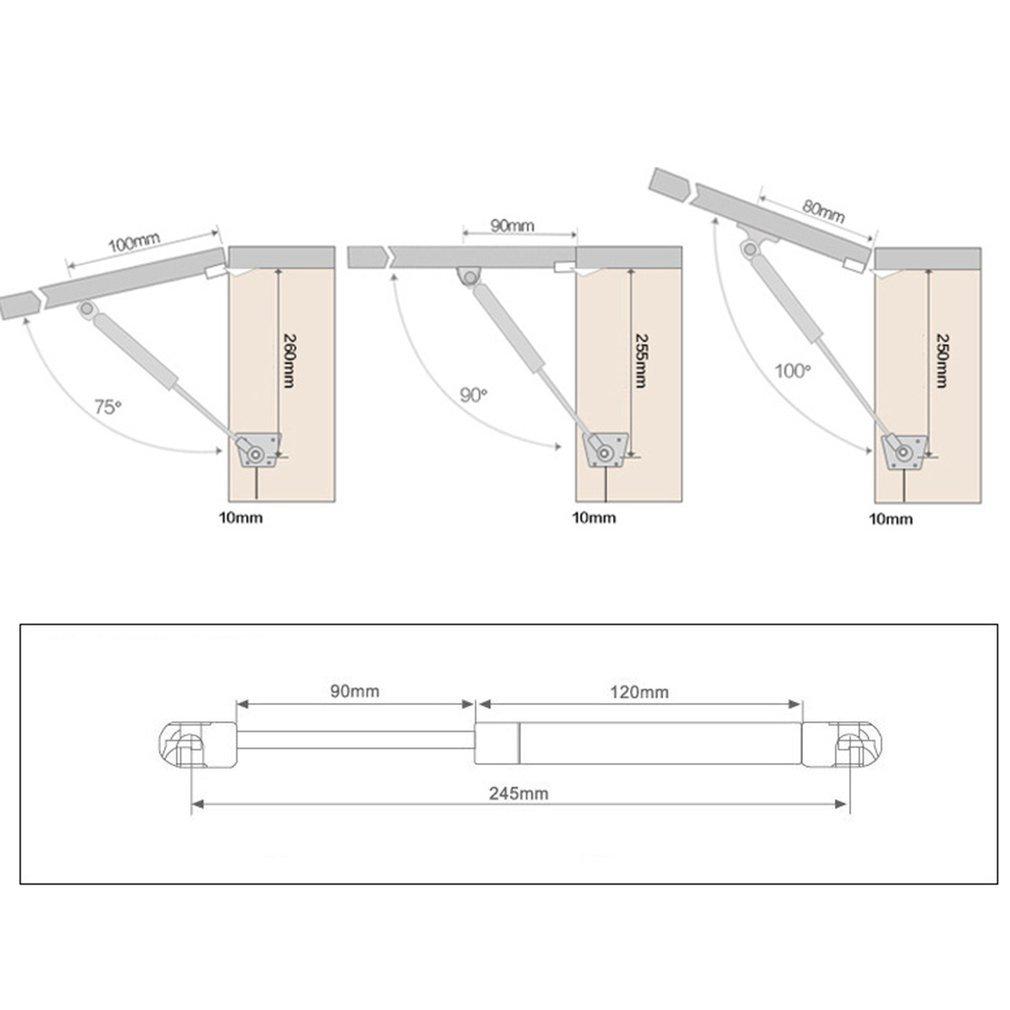 Winbang Mobili Gabinetto Asta di Supporto 80N 100N idraulico pneumatico Gas Support Rod