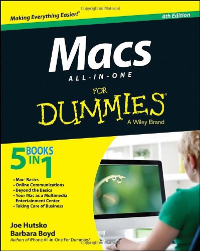 Macs All-in-One For Dummies - Ibook Series Laptops