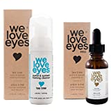 Cleansing Oil Eyes - All Natural Tea Tree Eyelid Cleanser Kit (Cleansing Oil 30 ml & Foaming Cleanser 40 ml) - Moisturizes, Reduces Itching and Inflammation, Blepharitis, Demodex, Dry Eyes Relief, Paraben and Sulfate Free