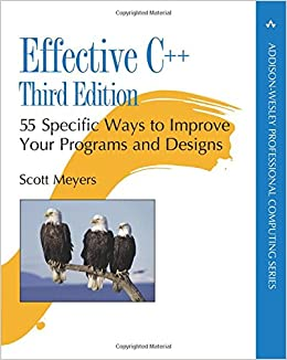 Effective C++: 55 Specific Ways to Improve Your Programs and