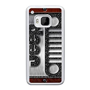 HTC One M9 Custom Cell Phone Case Shepherd Jeep car logo Case Cover WWFF68336