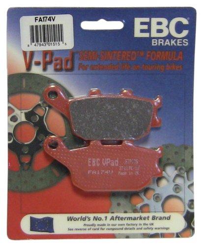 EBC Brakes FA174V Semi Sintered Disc Brake Pad