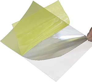 SIMIHUI Brightness Enhancement Film BEF Transparent Prism Film Used in Liquid Crystal Displays (LCDs) to Increase On-Axis Brightness of The Backlight (A4)