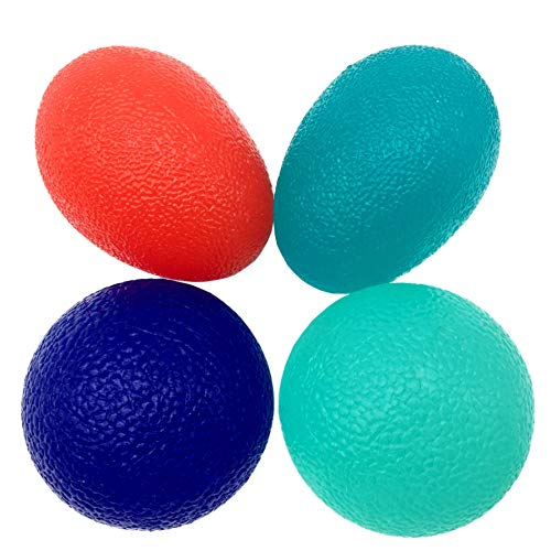 LiteTour Stress Relief Balls and Hand Therapy Balls for Hand Strengthening Exercise and Finger Fidgets Squeeze Balls for Stress Relief for Physical Therapy