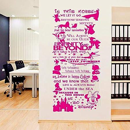 Mural Dicton Fille Naissance Ange Enfant VIE Sticker Murale 4