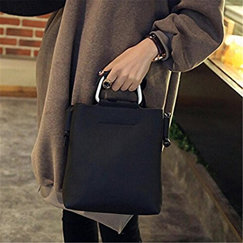 Shoulder Black Coin Messenger Crossbody Leather Women Phone size Handbag Small Fashion Bag dragonaur Gray qUwpXxO44