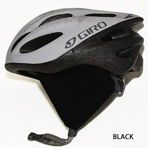 Polartec 300 Ear Covers Cycling Ear Warmers (Black)