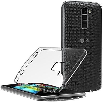 AICEK Funda LG K10, LG K10 Funda Transparente Gel Silicona LG K10 Premium Carcasa para LG K10