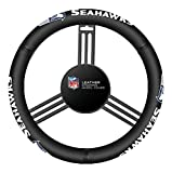 Fremont Die NFL Seattle Seahawks Leather Steering