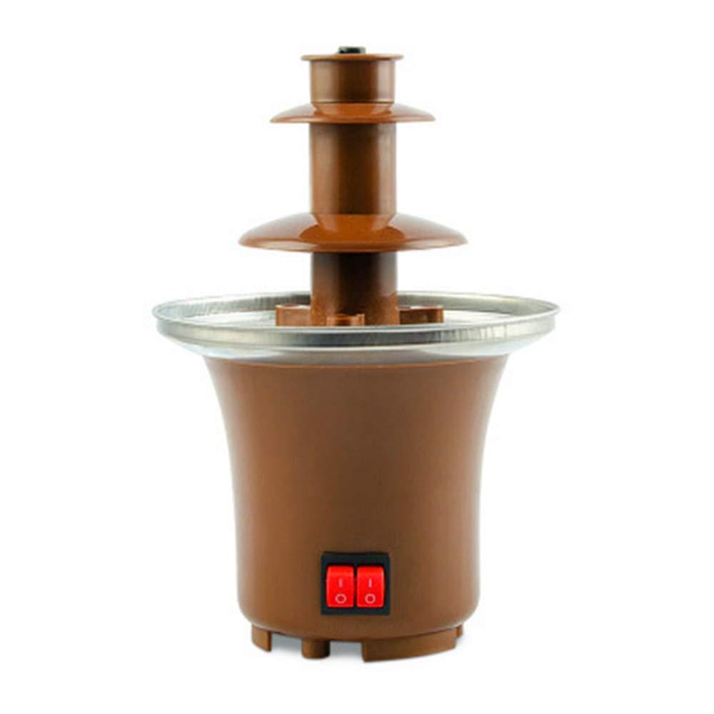 110V/220V Mini Chocolate Fountain Creative Design Chocolate Melt With Heating Fondue Waterfall Maker For Wedding Birthday Party