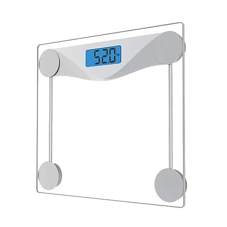 LWZ-Básculas Báscula electrónica Escala de baño Digital de ...