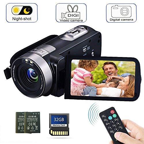 Camcorder Digital Camera with IR...