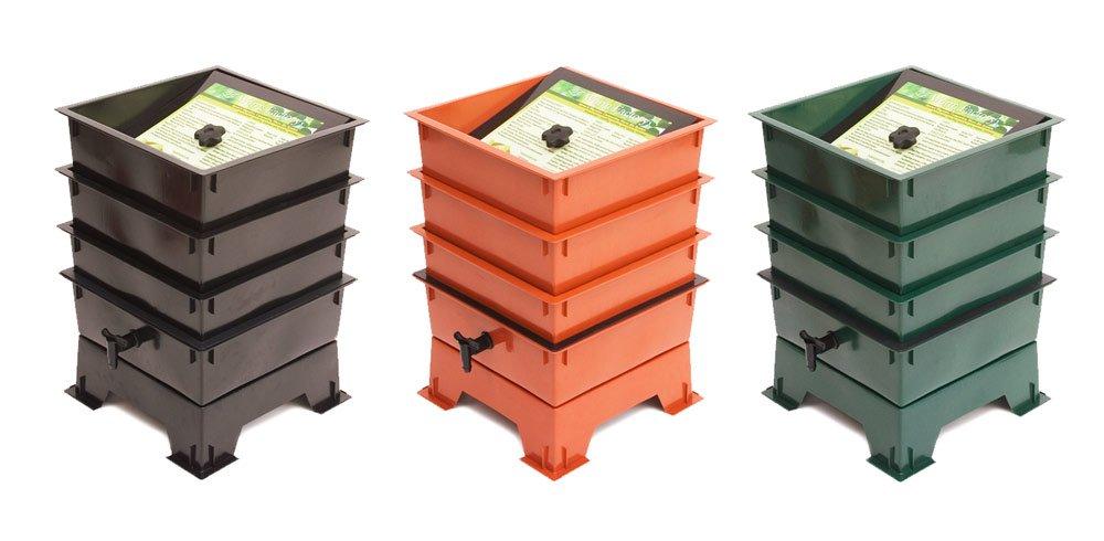 Gusano fábrica 3-tray Worm Tacho: Amazon.es: Jardín