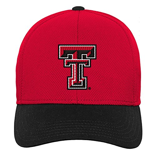 - Gen 2 NCAA Texas Tech Red Raiders Youth Boys Velocity Structured Flex Hat, Youth Boys One Size, Red