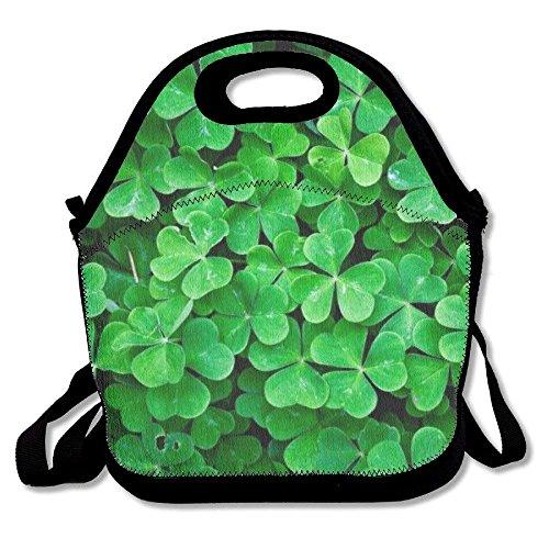 GoldBaoWang Lucky Charm Bolsa de neopreno para almuerzo o picnic con aislamiento, impermeable, bolsa para el almuerzo con...