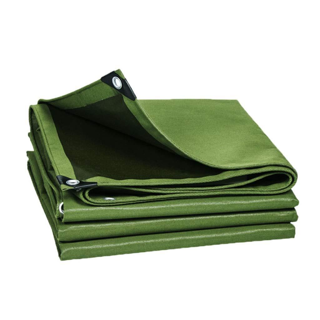 Nwn 金属のアイレットが付いている単一の側面の防水防水シートの地面シートの屋外のキャンプカバーオプションのための9つのサイズ (サイズ さいず : 6x8m) 6x8m  B07S3TRGR9