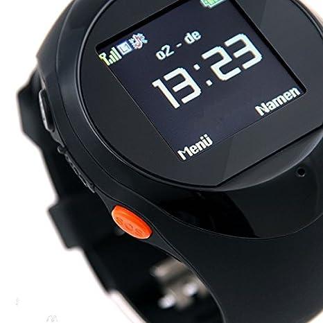 Original fairtek® Pro de Mobile F5 notrufuhr Detector de emergencia Personas de localización GPS Tracker dispositivo Localización Tracking geozaun Reloj de ...