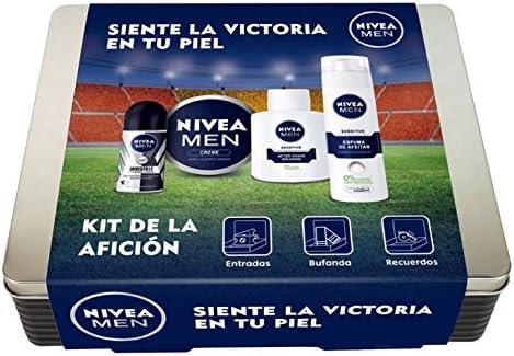 NIVEA MEN Kit de la afición con 4 productos de baño, caja de ...