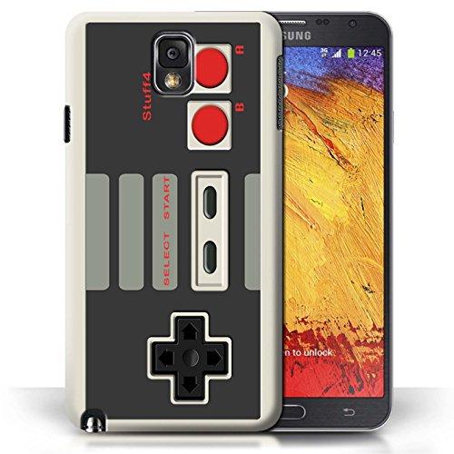 Coque en plastique pour Samsung Galaxy Note 3 Collection Console (jeux vidéo) - Nintendo