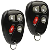 2 Keyless Entry Remote Key Fob - 4 Button (Symbol)