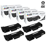 LD Compatible Xerox 106R02777 Set of 4 HY Black Toner Cartridges for Phaser 3260/DNI, 3260/DI, WorkCentre 3215/NI, & 3225/DNI