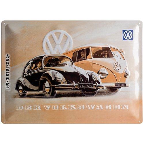 40x0x30 Metallo Nostalgic-Art Targhe