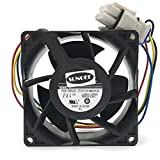 V80E14MS2A3-57A611 DC 13.6V 0.16A 4wire 80x80x38mm Server Square Cooler fan