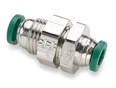 Nickel Plated Brass Pack of 5 5//32 Push-to-Connect Tube x 5//32 Push-to-Connect Tube 5//32 Push-to-Connect Tube x 5//32 Push-to-Connect Tube Pack of 5 Parker Hannifin 62PLPBH-5//32-pk5 Prestolok PLP Bulkhead Union Push-to-Connect Fitting