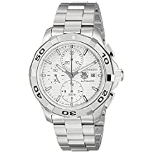 Tag Heuer Men's Aquaracer Chronograph Dial Watch Silver CAP2111.BA0833