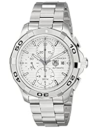 Tag Heuer Men's Aquaracer Chronograph Dial Watch Silver CAP2111.BA0833
