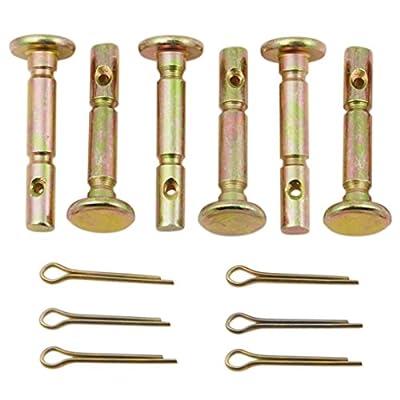 Rotary 5549 PK6 Snowblower Shear Pins & Cotter Pins