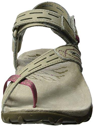Merrell Damen Terran Convertible II Sandale Taupe / Weißdorn