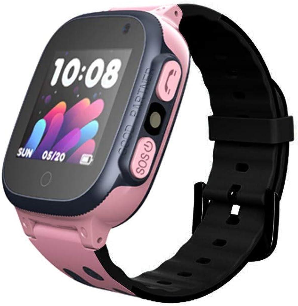 BOBOLover Smartwatch Niños, Reloj Inteligente para Niños Impermeable ip67 con LBS, Hacer Llamadas, Chat de Voz, SOS, Cámara, Mejor Regalo para Niño niña de 3 a 12 años