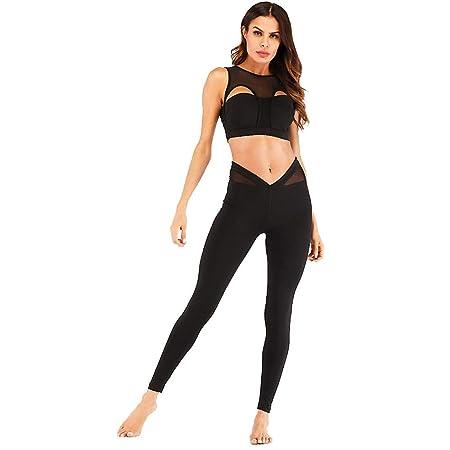 J-TUMIA-D Ropa Deportiva Mujer Otoño Invierno Costura Yoga ...