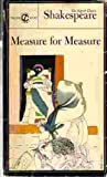 Measure for Measure, William Shakespeare, 0451512456