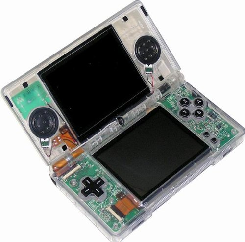 Ghost Clear Case - Nintendo DS Lite Clear Ghost Case
