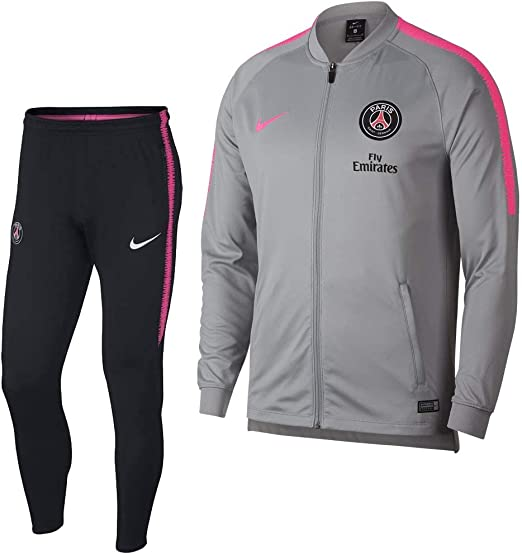 Desconocido Nike Drparis Saint-Germain Squad Hombre, Wolf Grey ...