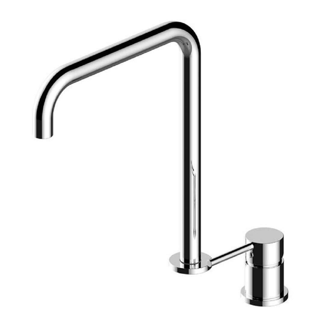 Wasserhahn Küche Küchenarmatur Mit Zwei Löcher Getrennt Zu ErHöhen, Badewanne - Becken In Rotary - Küche Spültischarmatur