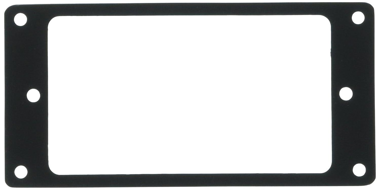 Kmise z4539 6個フラットメタルハムバッカーピックアップマウントリング – クロム/ブラック/ゴールド   B011A3M79C, radishop 82c59187