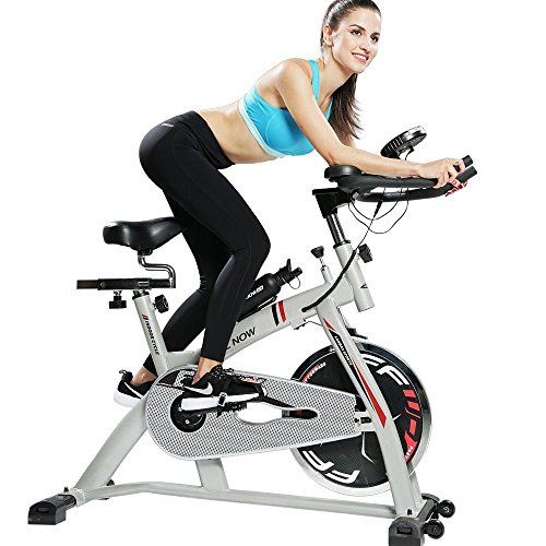 Exercise Bike Tall Person: Indoor Cycling Bike Trainer Real Road Feel