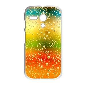 Polka Dot Design Motorola G Cell Phone Case White ZIZ